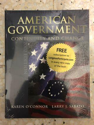 American Government: Continuity and Change (2002 Edition)