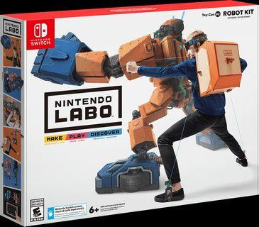 Labo Robot Kit - Nintendo Switch