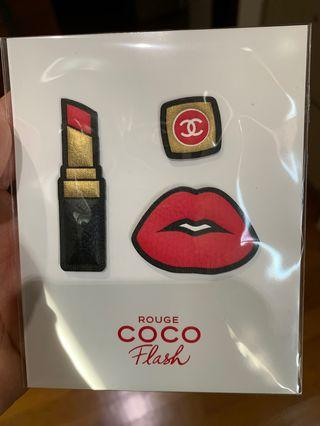 🚚 Chanel Rouge Coco Flash Stickers
