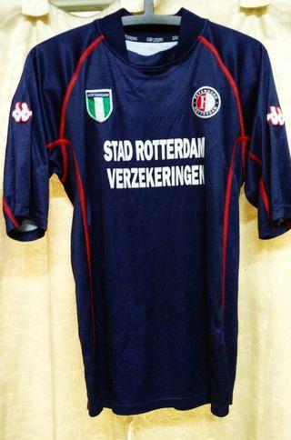 True Original Vintage Collection Feyenoord Rotterdam FC 2002-2003 3rd Jersey Made in Romania!