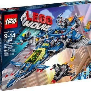 Lego 70816 Movie Benny's Spaceship, Spaceship, SPACESHIP!