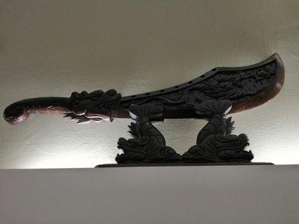 Wooden Chinese style sword