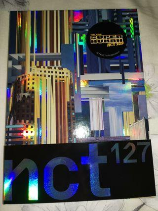 🚚 (WTS/WTT) Unsealed + group poster NCT 127 We Are Superhuman Mini Album Volume 4