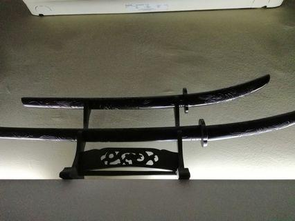 Wooden Japanese style sword
