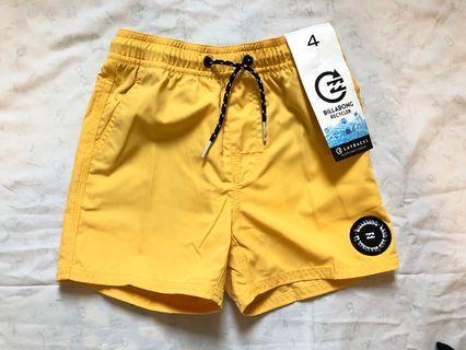 男童黃色沙灘褲