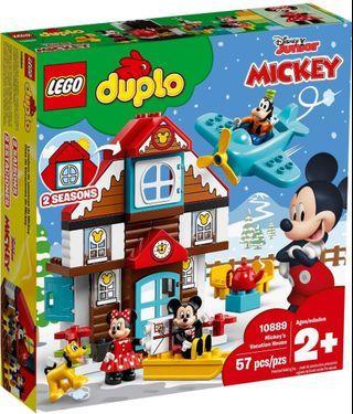 LEGO DUPLO10889 Mickey's Vacation House 米奇度假屋 同系列 10910 10906 10907 10843 10893