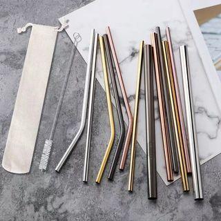 Metal straws for BOBA