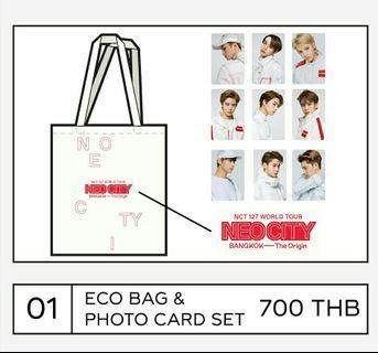(sharing slot) neo city bkk eco bag photo card set