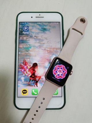 I Phone 7 Plus + I Watch 2