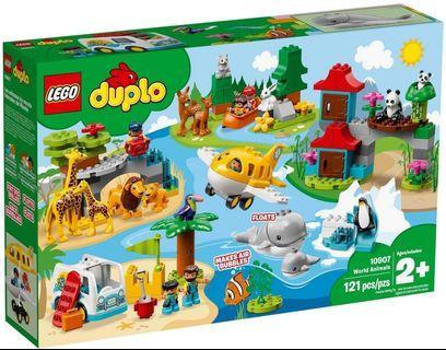 LEGO Duplo 10907 World Animals 同系列 10910 10889 10906 10843 10893 10901 10884