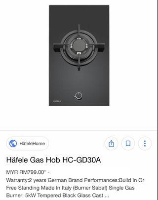 Gas stove FREE sink/Hob/Hood/Cookware/Oven