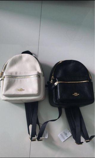 🚚 Coach Mini Backpack