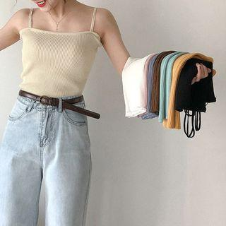 Knitted Camisole Tops 2