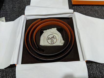 Hermes Reversible Belt 90