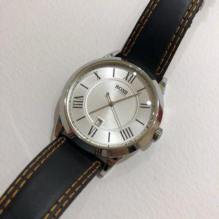 Authentic Hugo Boss gents watch leather straps