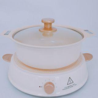 日本Iris Ohyama ricopa IH電磁爐(含專用陶瓷鍋)