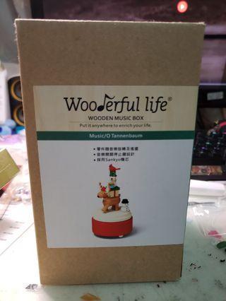 木製音樂盒 music box