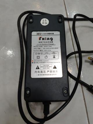 Electric scooter 36V charger