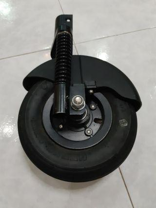 """Go-Board electric scooter 8"""" front pneumatic tyre"""