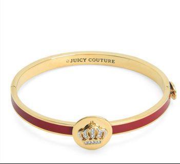 🚚 Juicy Couture Signature Crown Hinge Bangle