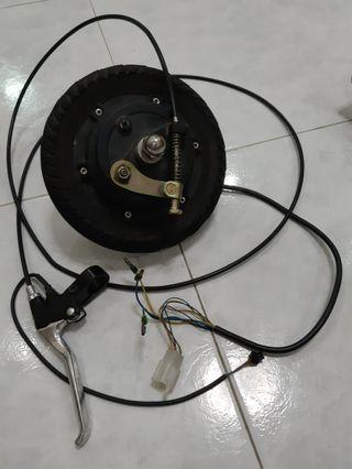 """Go-Board electric scooter 8"""" rear hub motor with EABS"""