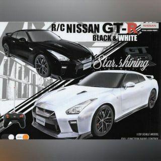 日版R/C Nissan GT-R 遙控車 頭文字D 模型賽車 1/20 scale model Full Function Radio control Remote Car