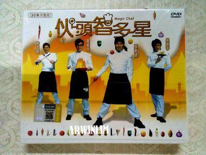 ORIGINAL NTSC Magic Cheif 伙頭智多星DVD (6Disc ∼30 full episodes)