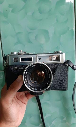 Kamera Analog rangefinder Yashica Electro 35 GSN