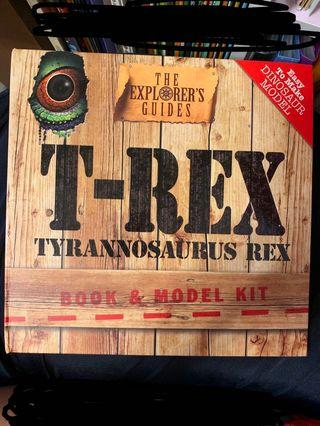 Dinosaur book and model kit