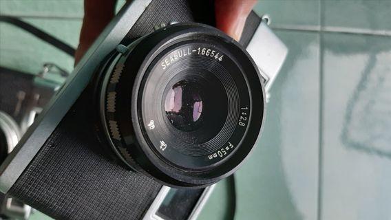 Kamera analog rangefinder Seagull 205