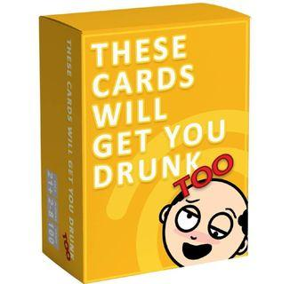 🚚 (PO) These cards will get you drunk cards party card games