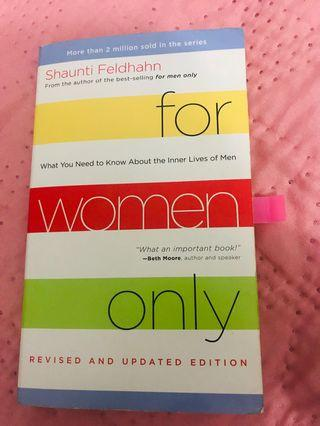 IMPORTED BOOKS! - For Women Only