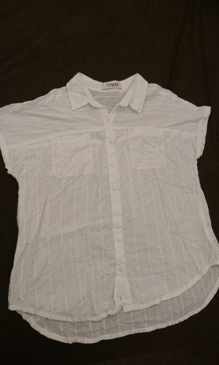 CUMAR純棉短袖襯衫