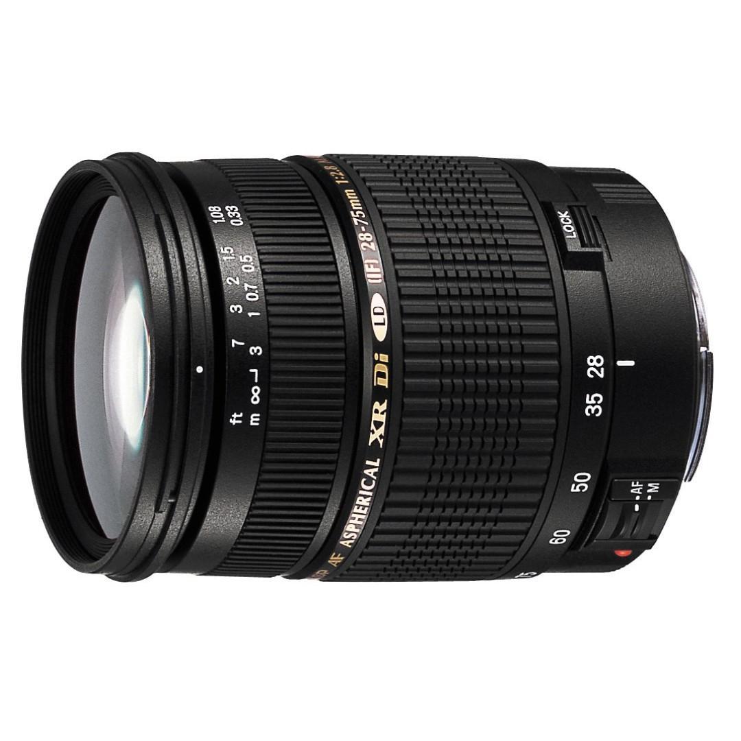 (1).Tamron AF 28-75mm f/2.8 SP XR Di LD Aspherical (IF) for Canon Digital SLR Cameras (Model A09)
