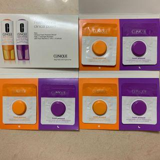 Clinique Fresh Pressed Daily Booster Overnight Booster 鮮搾維C精華  鮮榨維A精華