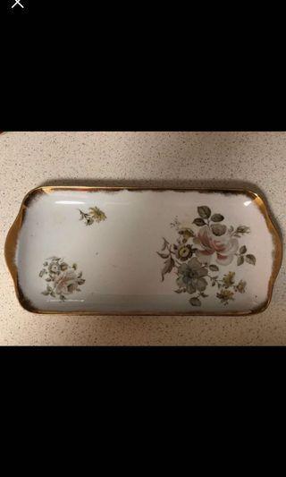 Vintage China porcelain platter