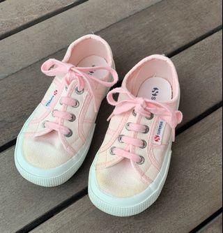 (PL) SUPERGA Kids Shoes Pink classic sneakers 16.5 cm /EU 27