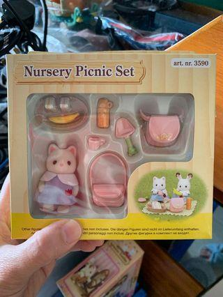 森林家族nursery set