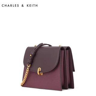 aunthentic charles and keith bags