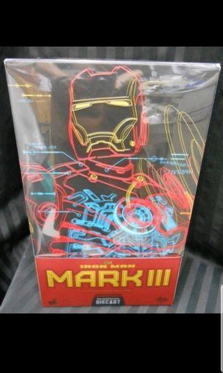 中古 已開 HOTTOYS MMS 256 普通版 鋼鐵奇俠 IRONMAN MARK MK 3 復仇者聯盟 AVENGERS