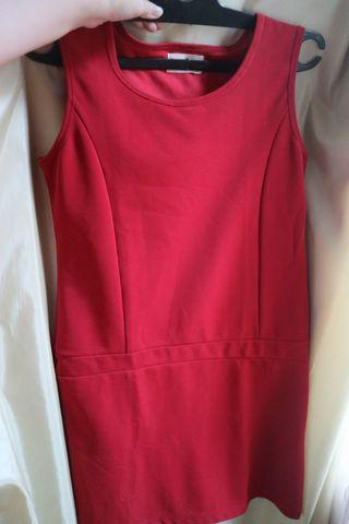 Gaudy red dress