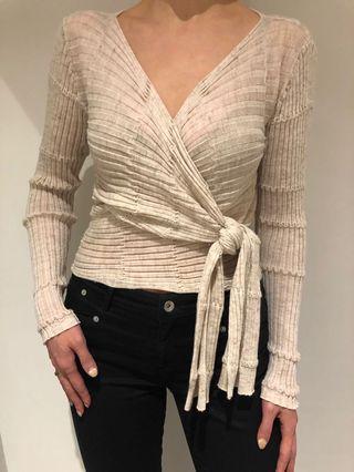 Wrap knit