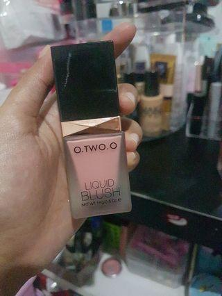 Blush on liquid o two o