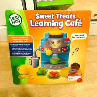 ~Ready Stock~ LeapFrog Sweet Treats Learning Cafe - Aqua Blue
