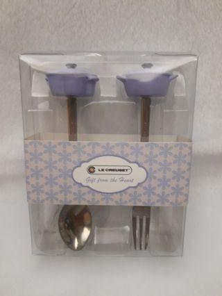 Le Creuset spoon and fork set (叉和匙羹套裝) 限量
