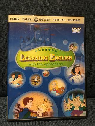 20 DVD Fairy Tales Movie Learning English