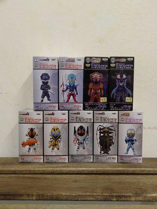 WCF World Collectibles Figure Kamen Rider series set of 9