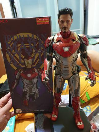 🚚 Iron man Mark 47 scale one: 6