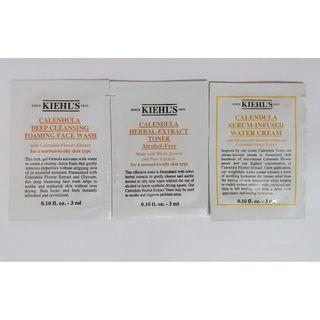 Kiehl's 金盞花(潔面 + 爽膚 + 面霜)套裝(包裝)