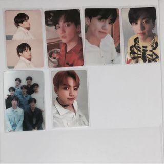 wts bts jungkook persona official photocards